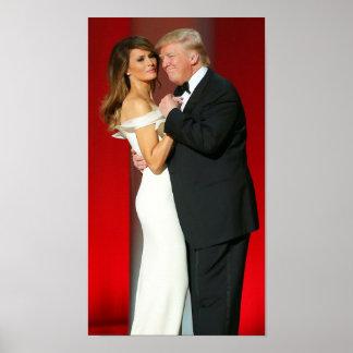 Donald & Melania Trump & The Liberty Ball Poster