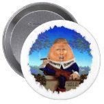 Donald Trump 10 Cm Round Badge