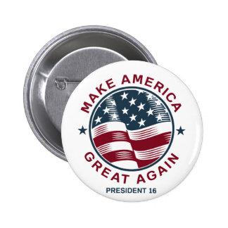 Donald Trump 16 6 Cm Round Badge