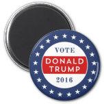 Donald Trump 2016 6 Cm Round Magnet