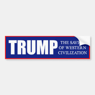 Donald Trump 2016 Bumper Sticker