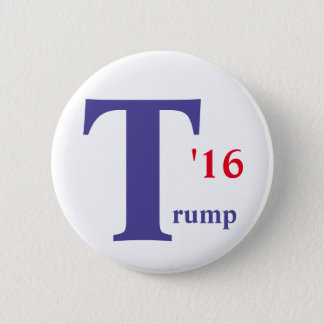 Donald Trump 2016 button