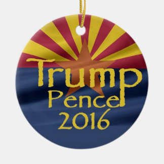 Donald TRUMP 2016 Christmas Ornament