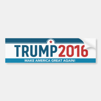 Donald Trump 2016 Make America Great Again! Bumper Bumper Sticker