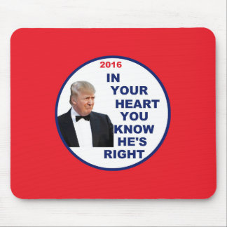 Donald TRUMP 2016 Mouse Mat