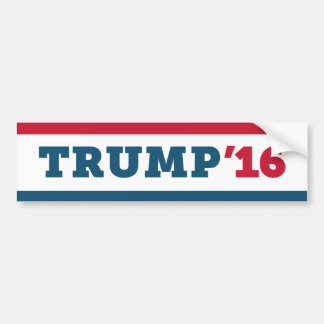 Donald Trump 2016 President Bumper Sticker