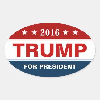Donald Trump 2016 Presidential Campaign Oval Sticker