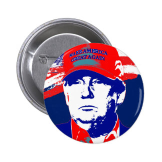Donald Trump 2016 Presidential Candidate 6 Cm Round Badge