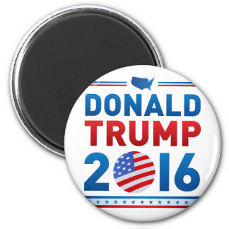 DONALD TRUMP 2016 Presidential Election 6 Cm Round Magnet