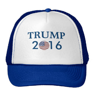 DONALD TRUMP 2016 PRESIDENTIAL HAT US FLAG