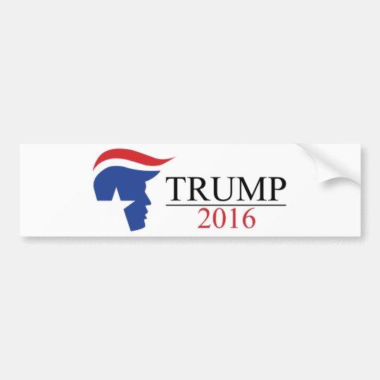 Donald Trump 2016 Presidential Logos Bumper Sticker