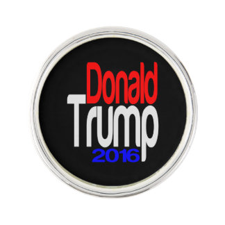 Donald Trump 2016 Red White and Blue Lapel Pin