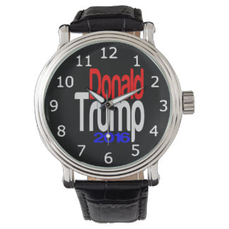 Donald Trump 2016 Red White and Blue Wrist Watch
