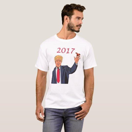 Donald Trump 2017 Fidget Spinner T-Shirt