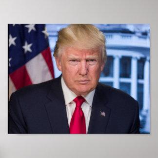 Donald Trump as President Poster
