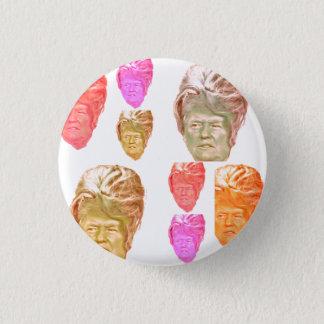Donald Trump Beehive Print Pin