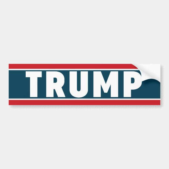 Donald Trump Bumper Sticker 2016