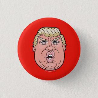 Donald Trump cartoon face 2016 button/pin 3 Cm Round Badge