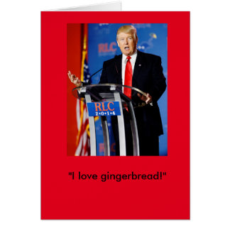 Donald Trump Christmas Card
