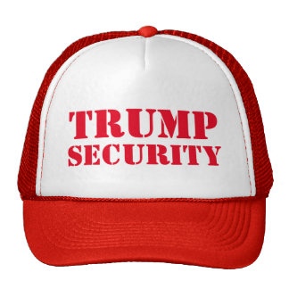 Donald Trump Election Security Cap