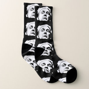 3aa29ca4185 Donald Trump Face Your Background Color Socks