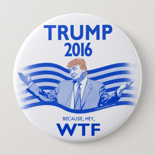 Donald Trump for President 10 Cm Round Badge