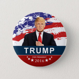 "Donald Trump for President 2016 2"" Round Button"