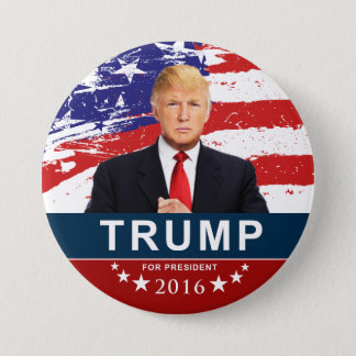 Donald Trump for President 2016 3 Inch Round Butto 7.5 Cm Round Badge
