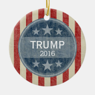 Donald Trump  for President 2016 Christmas Ornament