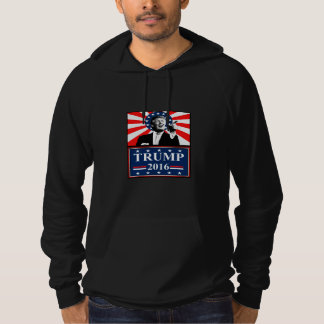 Donald Trump for President 2016 Hoodie Black