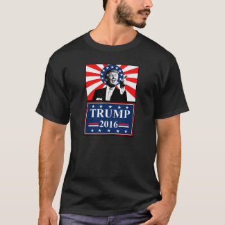 Donald Trump for President 2016 Tshirt Black