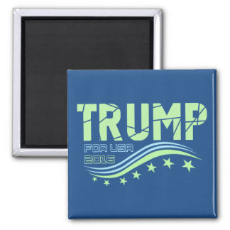 Donald Trump For President Square Magnet