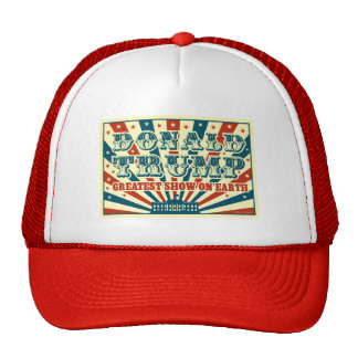 Donald Trump Greatest Show on Earth Vintage Circus Cap