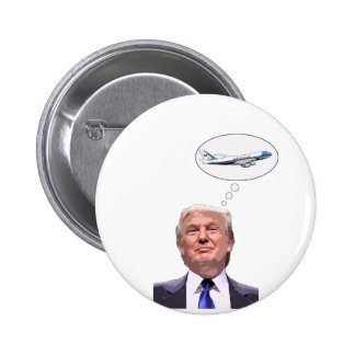 Donald Trump, Hair Force One 6 Cm Round Badge