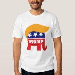 Donald Trump Hair GOP Elephant Logo T-shirt
