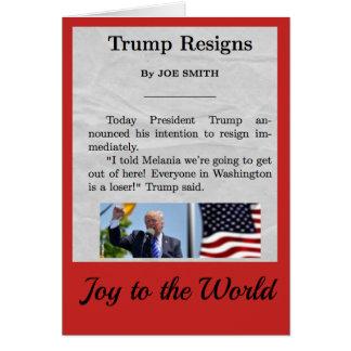 Donald Trump Holiday Card