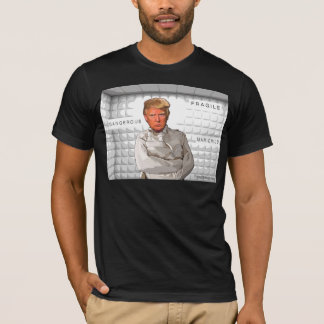Donald Trump in a straitjacket painting anti-trump T-Shirt