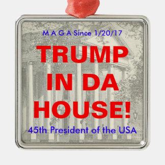 Donald Trump Inauguration Commemorative Ornament