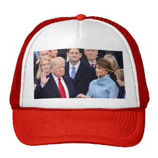Donald Trump Is Sworn In As U.S. President Cap