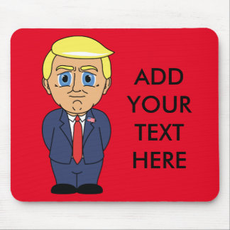 Donald Trump Looking Smug Mouse Mat