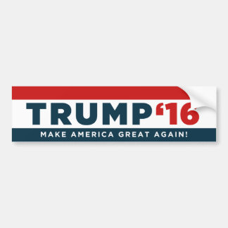 Donald Trump Make America Great Again! Bumper Bumper Sticker