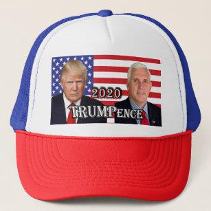 fdffe919ee5ca Donald Trump   Mike Pence 2020 - U.S. Flag Trucker Hat