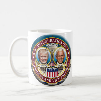 DONALD TRUMP MIKE PENCE PRESIDENTIAL INAUGURATION COFFEE MUG