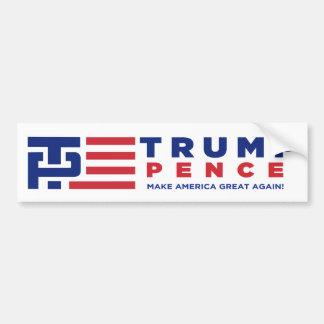 Donald Trump Pence 2016 Election Campaign Bumper Sticker