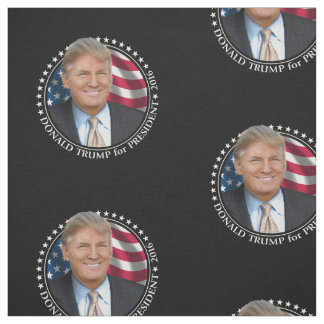 Donald Trump Photo - President 2016 Fabric