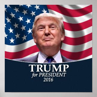 Donald Trump Photo - President 2016 Poster