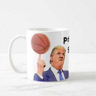 Donald Trump Political Satire mug   Basketball cup
