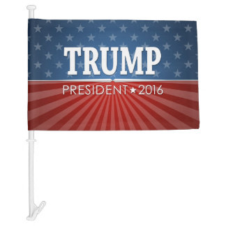 Donald Trump - President 2016 Car Flag