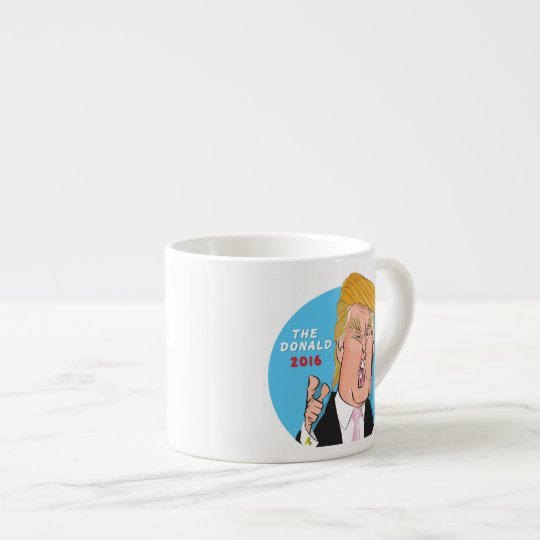 Donald Trump President 2016 Caricature Espresso Cup