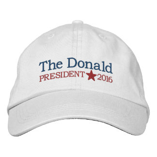 Donald Trump - President 2016 Embroidered Hat